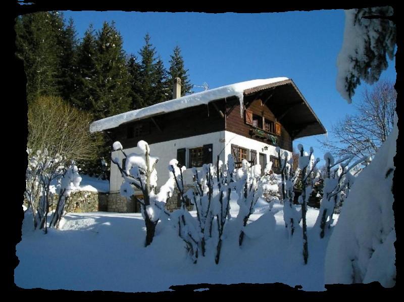 appartement dans chalet en montagne rhones alpes savoie prés de chambéry